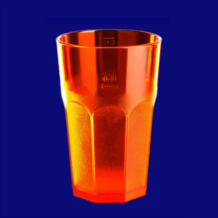 Plastová gastro sklenička l SAN