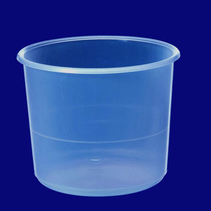 Skål 1 Liter PP transparenta