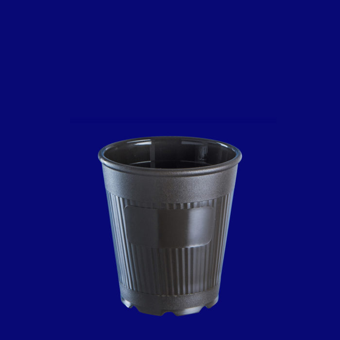 Vratný kelímek na kávu to go l PP hnědý